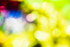 Defocused abstract bokeh Royalty Free Stock Photo