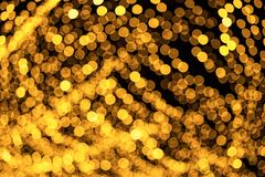 Defocused abstract bokeh pattern from lighting decor for background