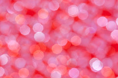 Defocused abstract bright red and white lights background Royalty Free Stock Photo