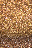 Defocused abstract brown lights background Stock Photo