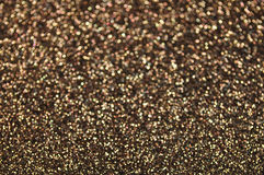 Defocused abstract brown lights background. Brown glitter texture christmas abstract background Stock Photos