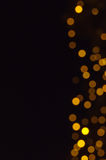 Defocused abstract christmas background Stock Image