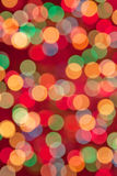 Defocused abstract festive lights Stock Image