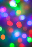 Defocused abstract festive lights Royalty Free Stock Photo