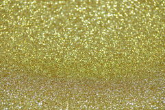 Defocused abstract gold lights background Stock Photos