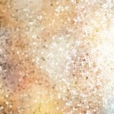 Defocused abstract golden. EPS 10 Stock Images