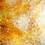 Defocused abstract golden. EPS 10 Royalty Free Stock Photography
