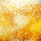 Defocused abstract golden. EPS 10 Royalty Free Stock Image