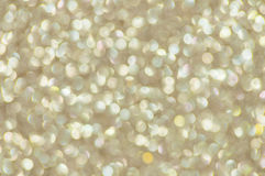Defocused abstract golden lights background Royalty Free Stock Photos
