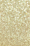 Defocused abstract golden lights background Royalty Free Stock Photo