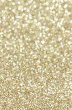 Defocused abstract golden lights background Stock Photography