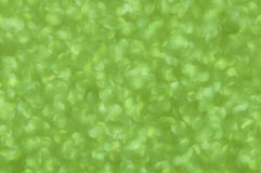Defocused abstract green lights background Royalty Free Stock Photos