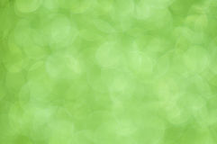 Defocused abstract green lights background Royalty Free Stock Photography