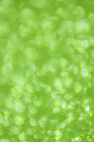 Defocused abstract green lights background Royalty Free Stock Image