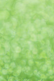 Defocused abstract green lights background Stock Images