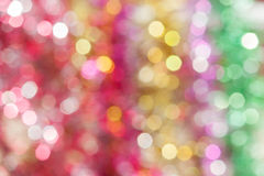 Defocused abstract holiday and  christmas background Stock Photos