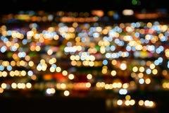 Defocused abstract licht voor achtergrond Stock Foto