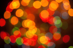 Defocused abstract lights Stock Photography