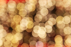 Defocused abstract lights Stock Photos