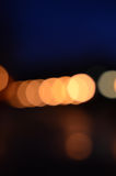 Defocused abstract lights background Stock Images