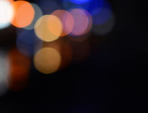 Defocused abstract lights background Royalty Free Stock Image