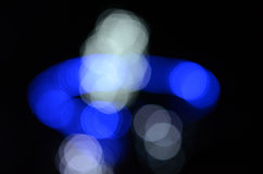 Defocused abstract lights background Stock Image