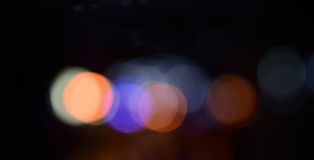Defocused abstract lights background Royalty Free Stock Photo