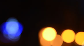 Defocused abstract lights background Stock Photography