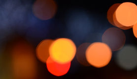 Defocused abstract lights background Royalty Free Stock Photography