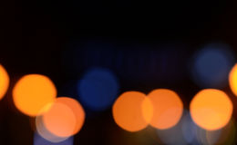 Defocused abstract lights background stock photo