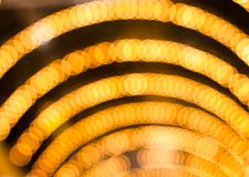 Defocused abstract lights christmas background Royalty Free Stock Photo