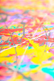 Defocused abstract painting Royalty Free Stock Images