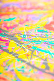 Defocused abstract painting Stock Photo
