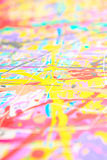 Defocused abstract painting Royalty Free Stock Photos