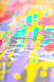 Defocused abstract painting Stock Image