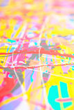 Defocused abstract painting Stock Photos