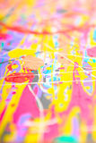 Defocused abstract painting Royalty Free Stock Photography