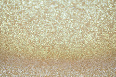 Defocused abstract pale gold lights background Royalty Free Stock Photography