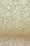 Defocused abstract pale gold lights background Stock Photo