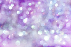 Defocused abstract pink and blue background Stock Photos