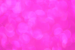 Defocused abstract pink light background Royalty Free Stock Photography