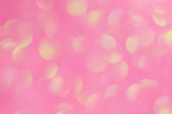 Defocused abstract pink light background Royalty Free Stock Images