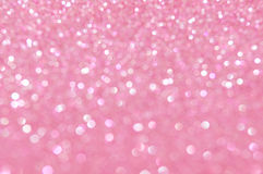Defocused abstract pink light background Stock Photography