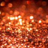 Defocused abstract red Bokeh lights. Royalty Free Stock Images