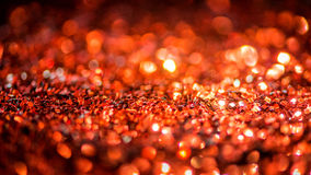Defocused abstract red Bokeh lights. Royalty Free Stock Image