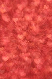 Defocused abstract red hearts light background Stock Photos