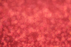 Defocused abstract red lights background Royalty Free Stock Photos