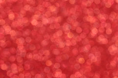 Defocused abstract red lights background Royalty Free Stock Images