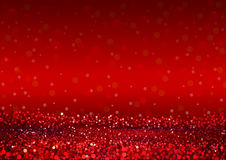 Defocused Abstract Red Lights Background Royalty Free Stock Photo