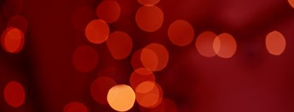 Defocused abstract red and yellow background Stock Image